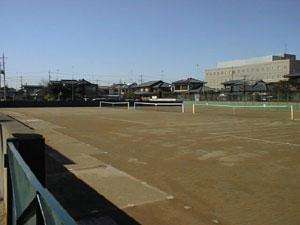 太田市八幡テニスコート
