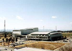 太田市新田文化会館・総合体育館「エアリス」(アリーナ)