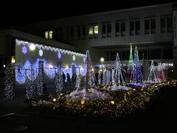 東洋大学板倉キャンパスイルミネーション