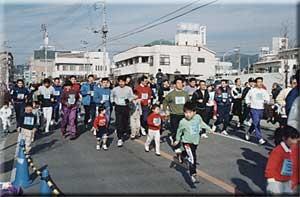 桐生市堀マラソン大会