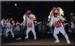 新井八幡宮の獅子舞