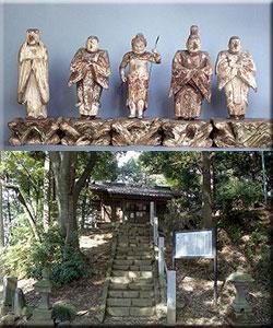 国指定史跡 新田荘遺跡 十二所神社境内